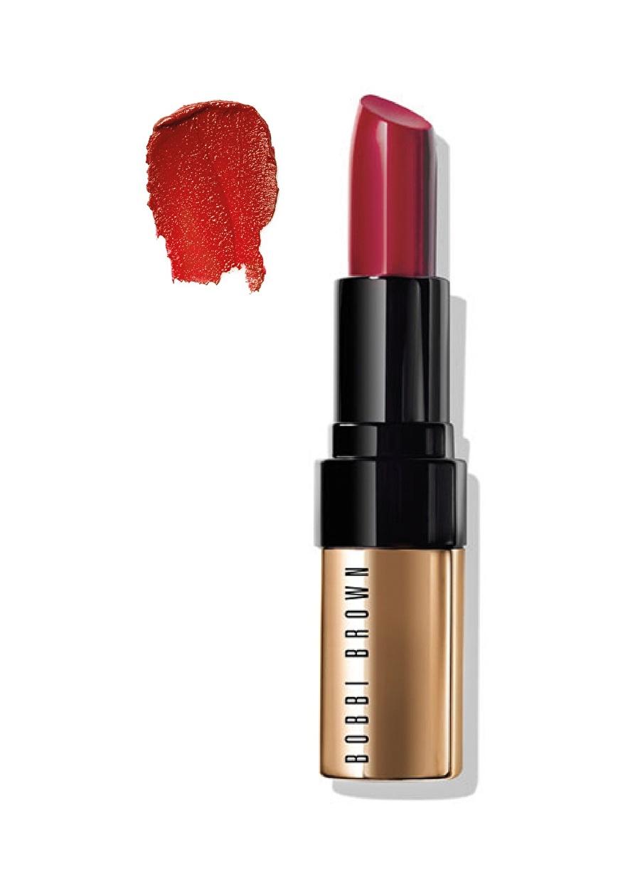 Standart Kadın Renksiz Bobbi Brown Luxe Lip Color - Retro Red 3.8 gr Ruj Kozmetik Makyaj Dudak Makyajı