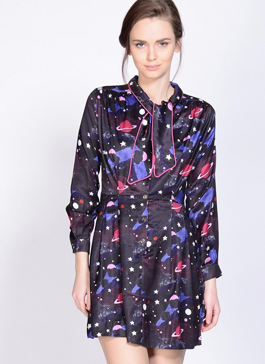 L Çok Renkli Sister Jane Elbise Kadın Giyim