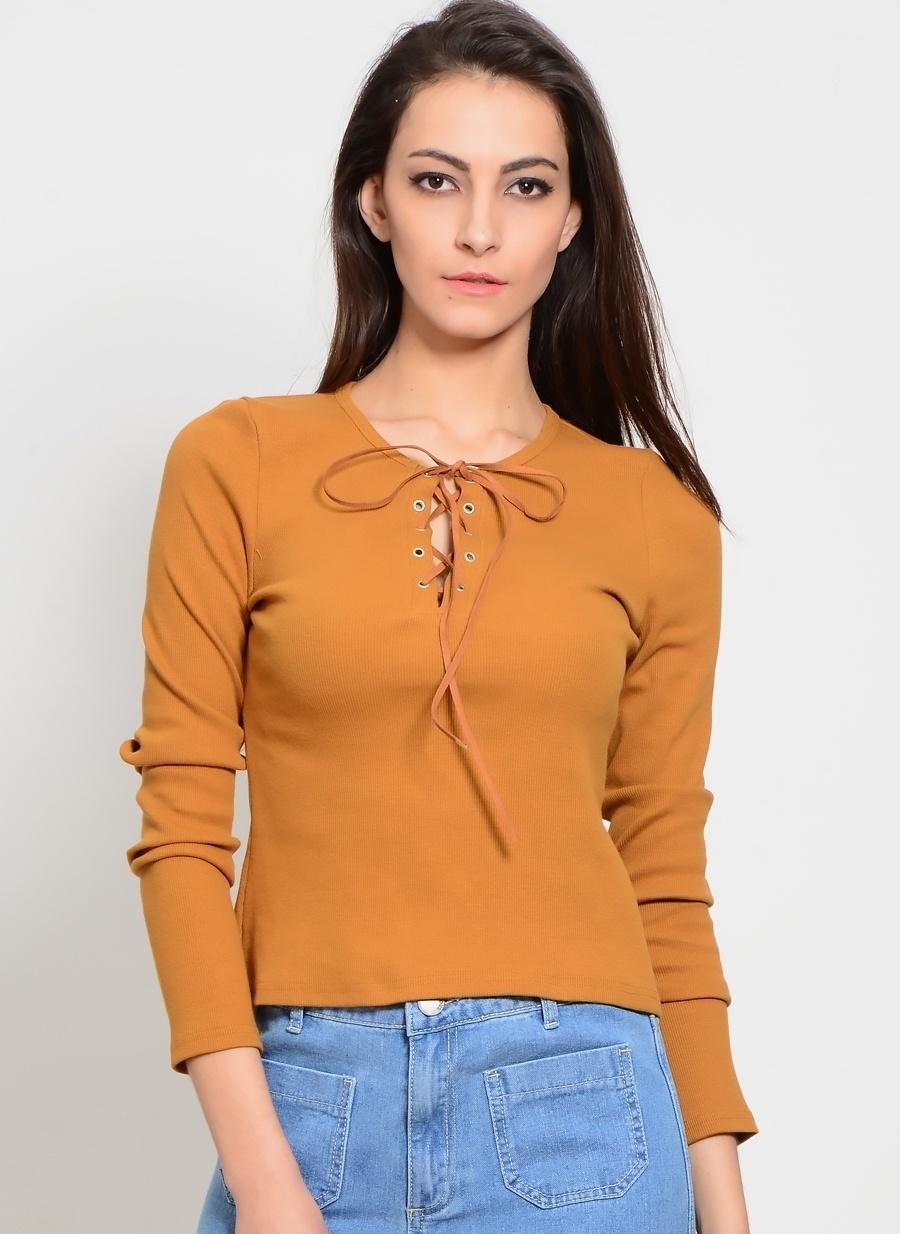 M Ten Glamorous Bluz Kadın Giyim Gömlek