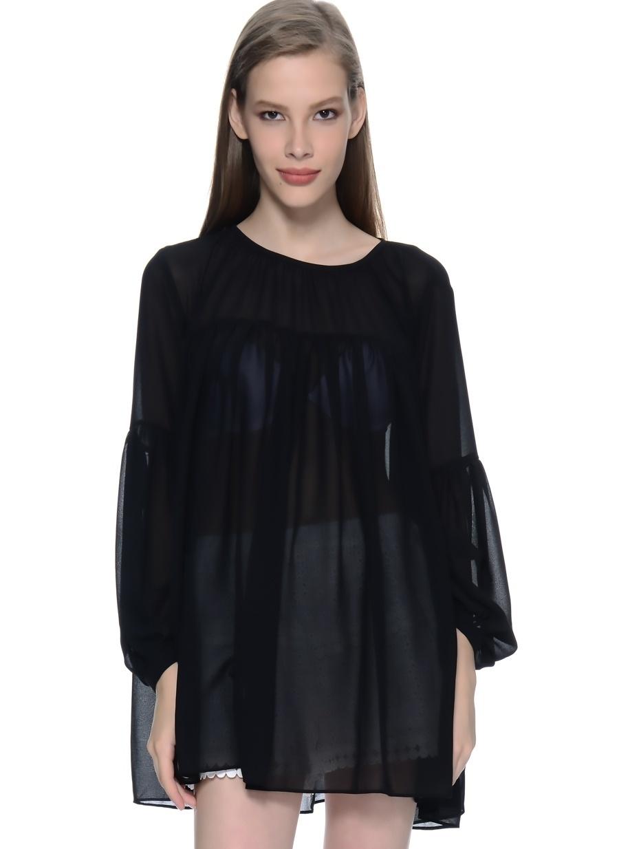 36 Siyah As By Anne Smith Bluz Kadın Giyim Gömlek