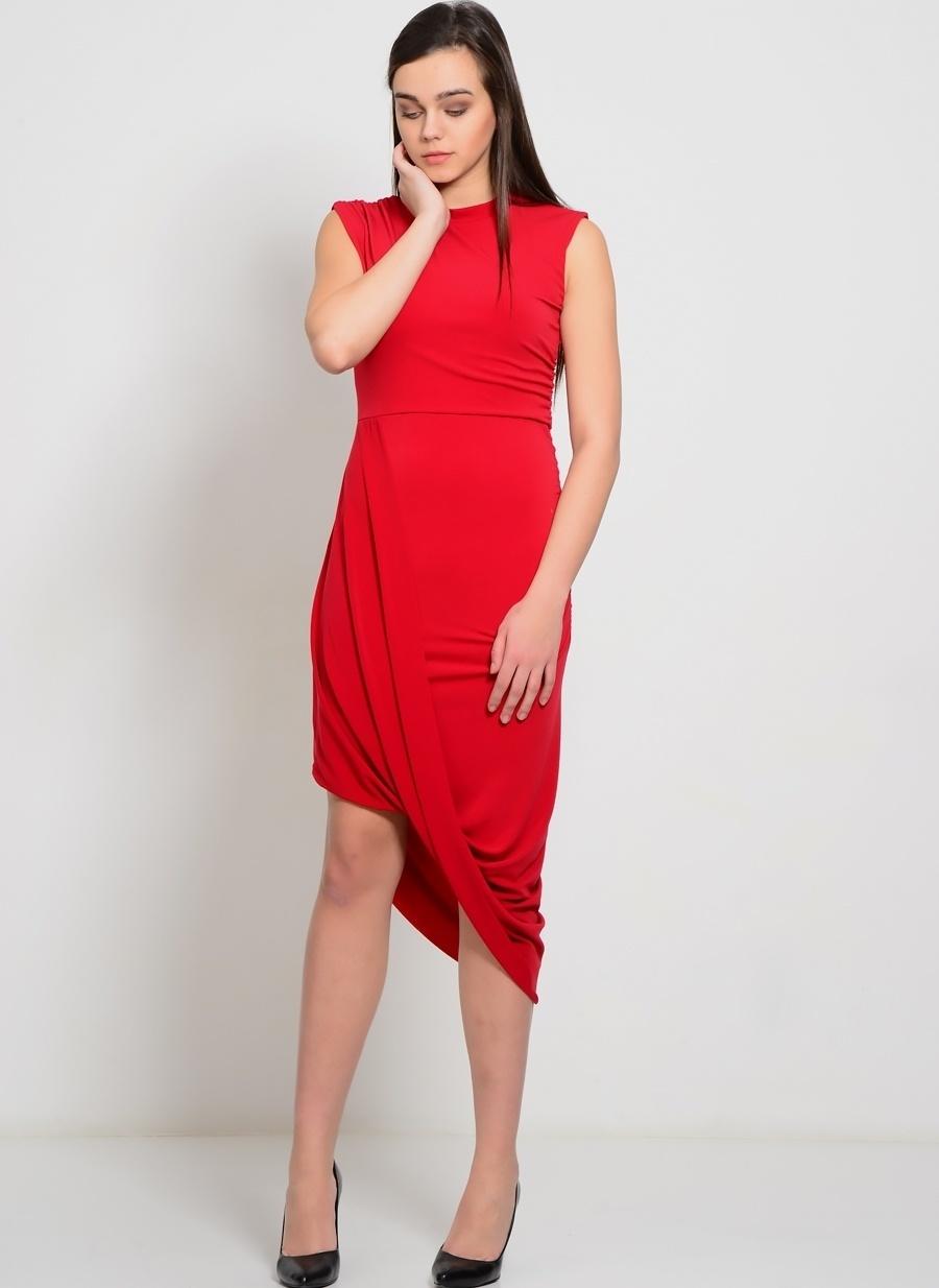 M Şarap Walg Elbise Kadın Giyim
