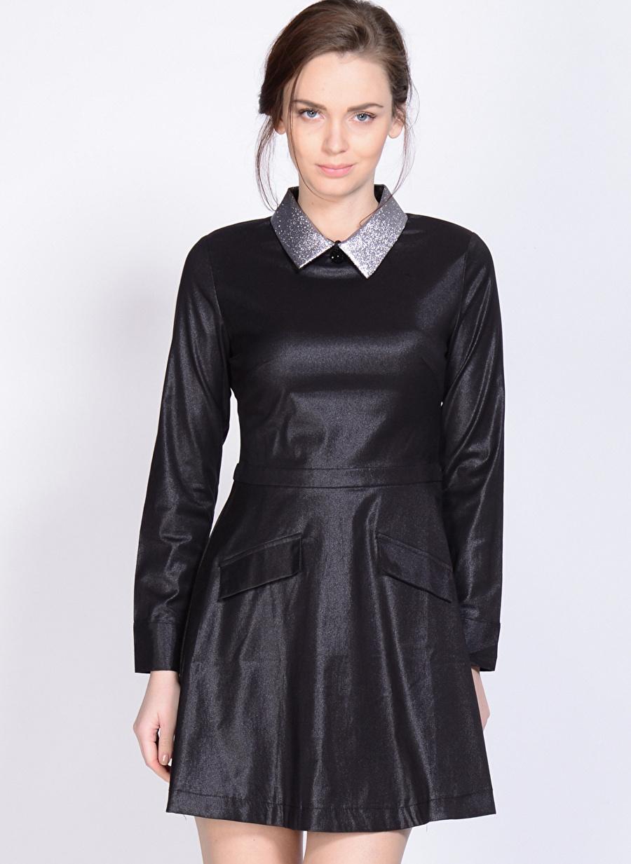 S Siyah Sister Jane Elbise Kadın Giyim