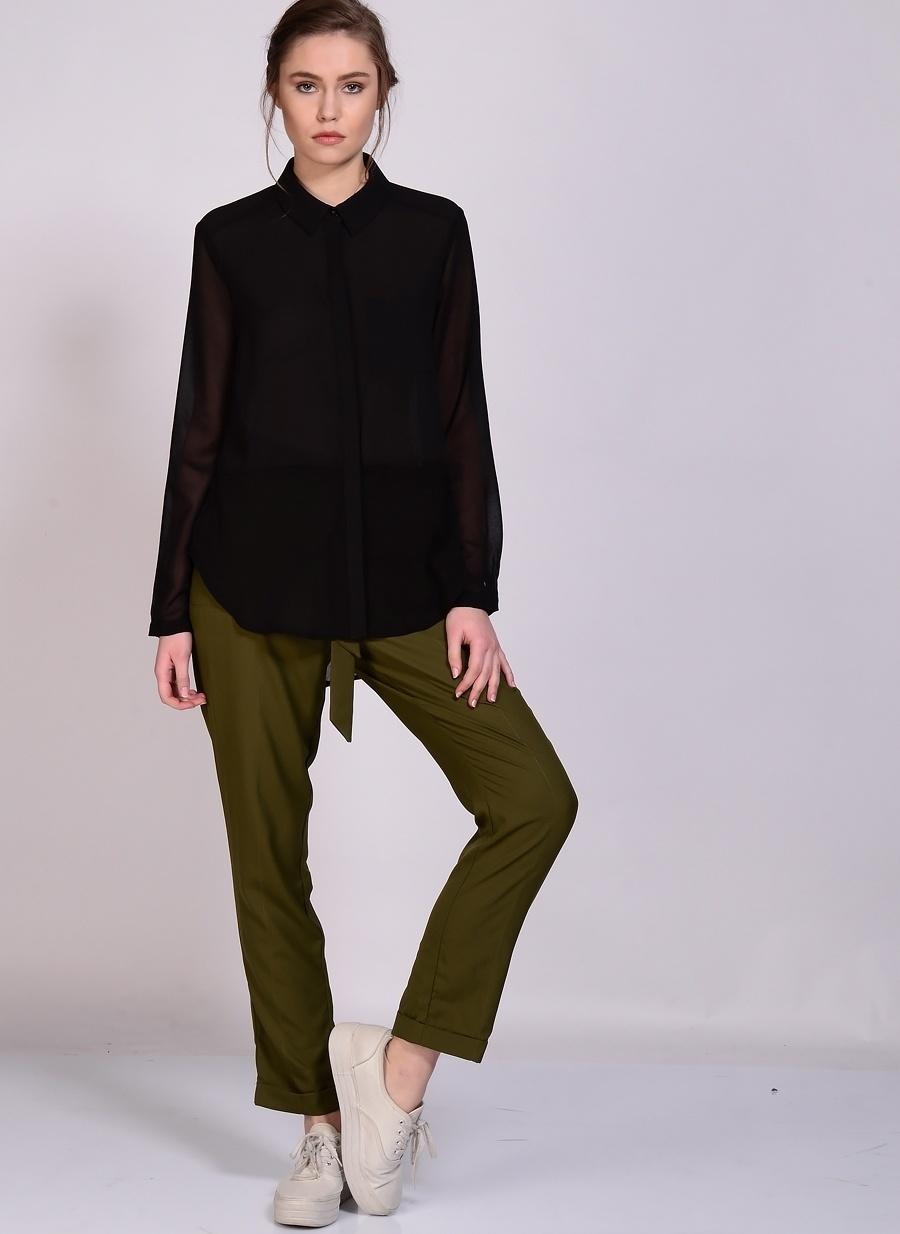 40 Haki Fashion Union Pantolon Kadın Giyim