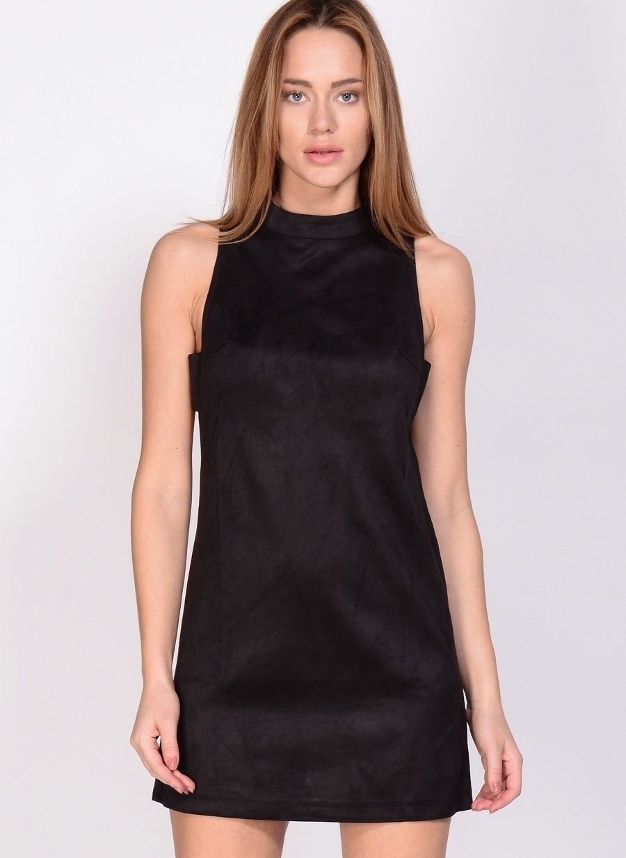 38 Siyah Fashion Union Elbise Kadın Giyim