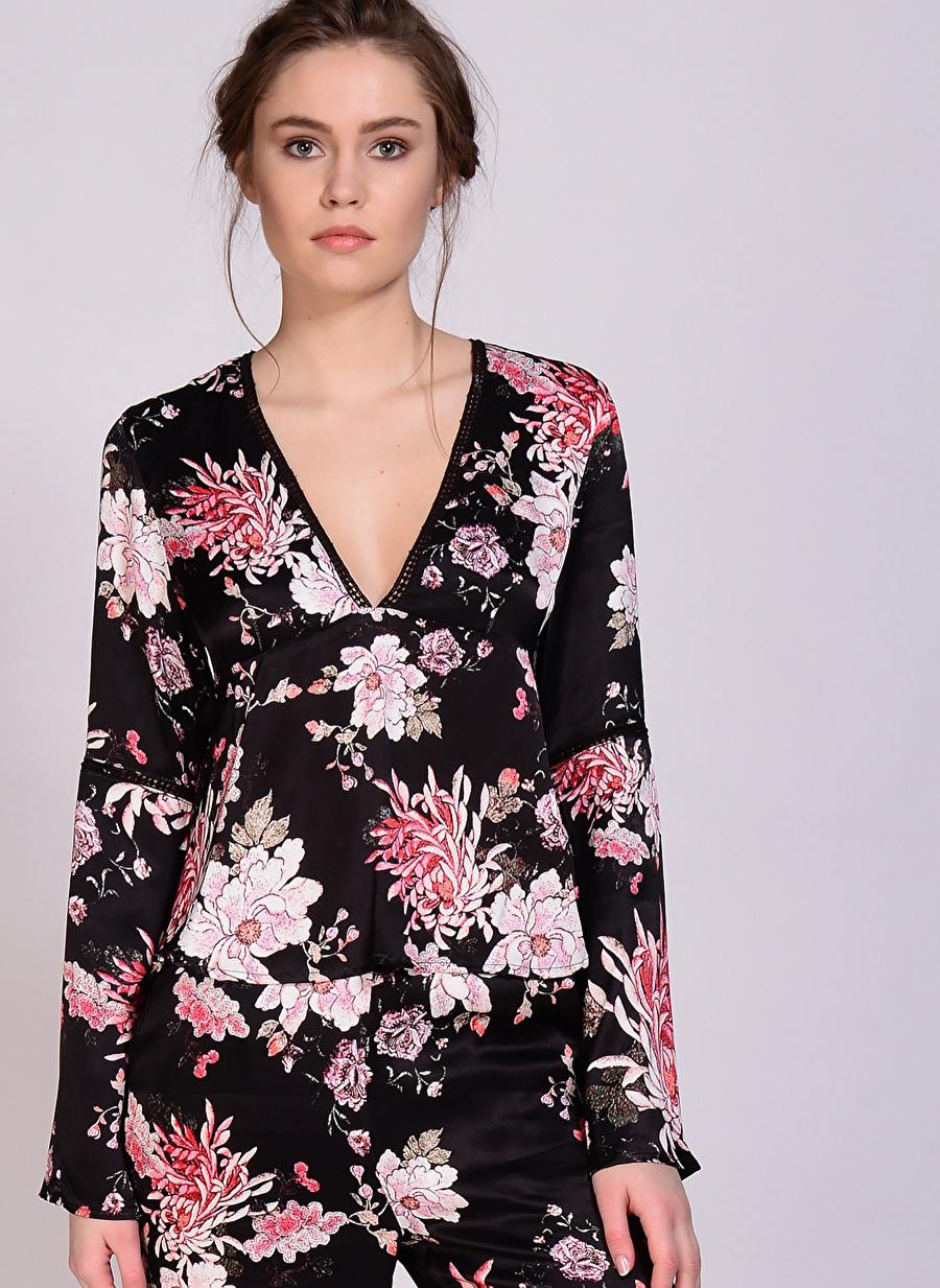 XS Çok Renkli Somedays Lovin Bluz Kadın Giyim Gömlek