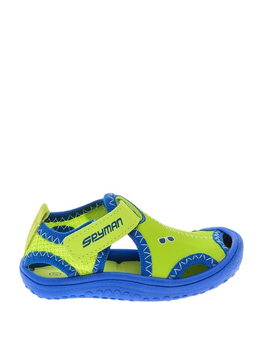 24 Erkek Yeşil Pinkstep Sandalet Çocuk Bebek Ayakkabı