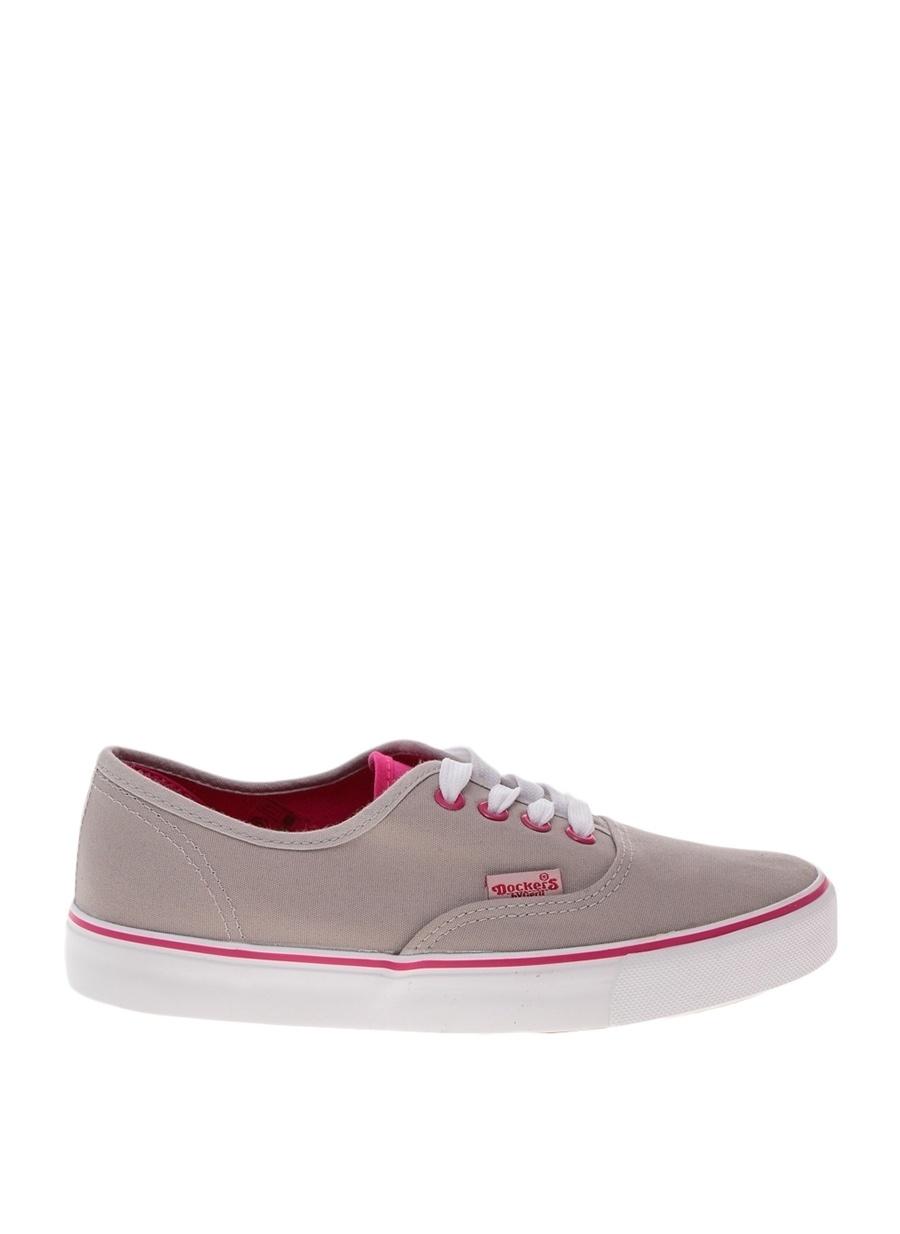 39 Gri Dockers Yürüyüş Ayakkabısı Spor Kadın Sneakers