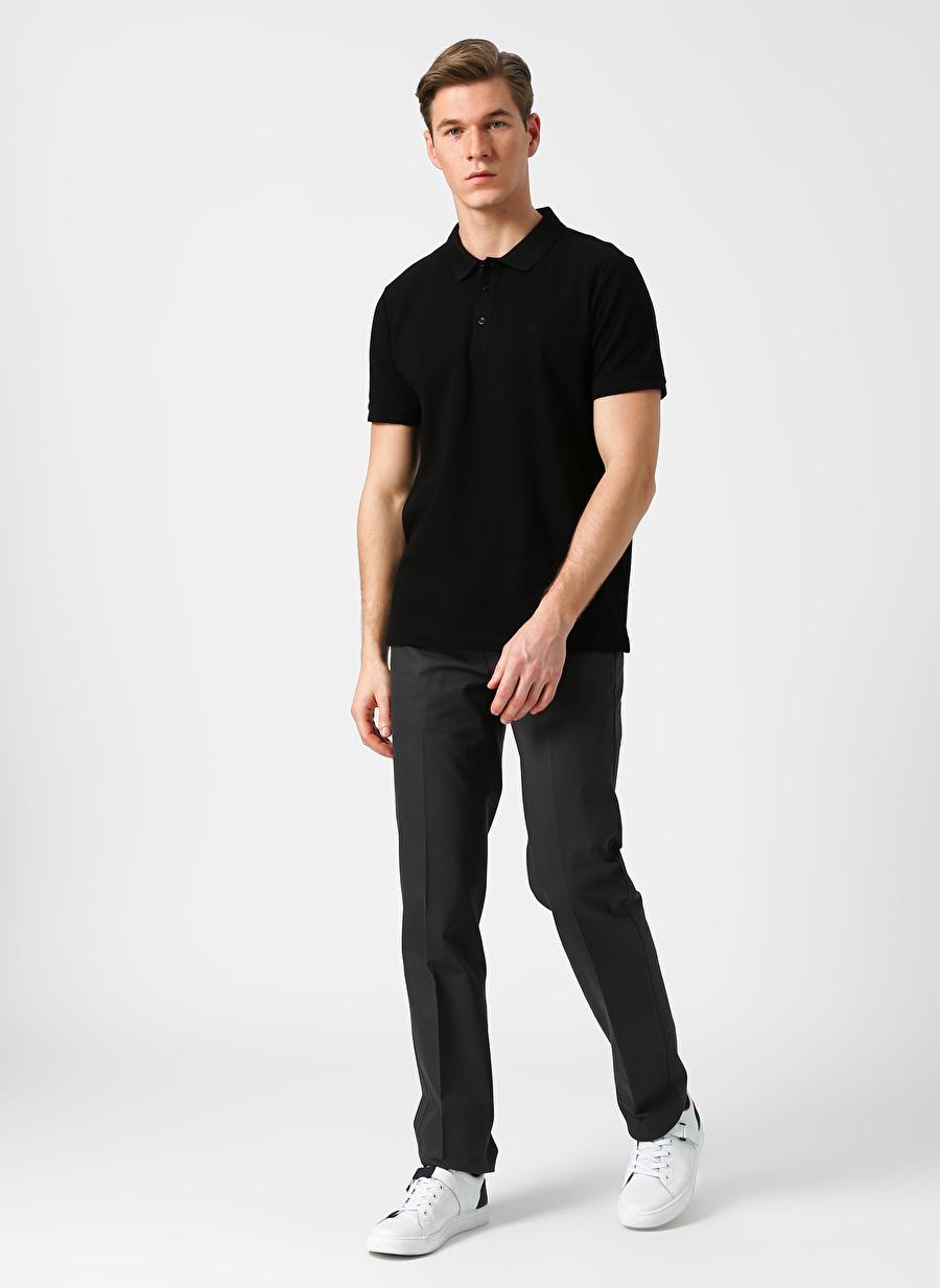 Gri Dockers Best Pressed Signature Slim - Stretch Twill Klasik Pantolon Erkek Basic