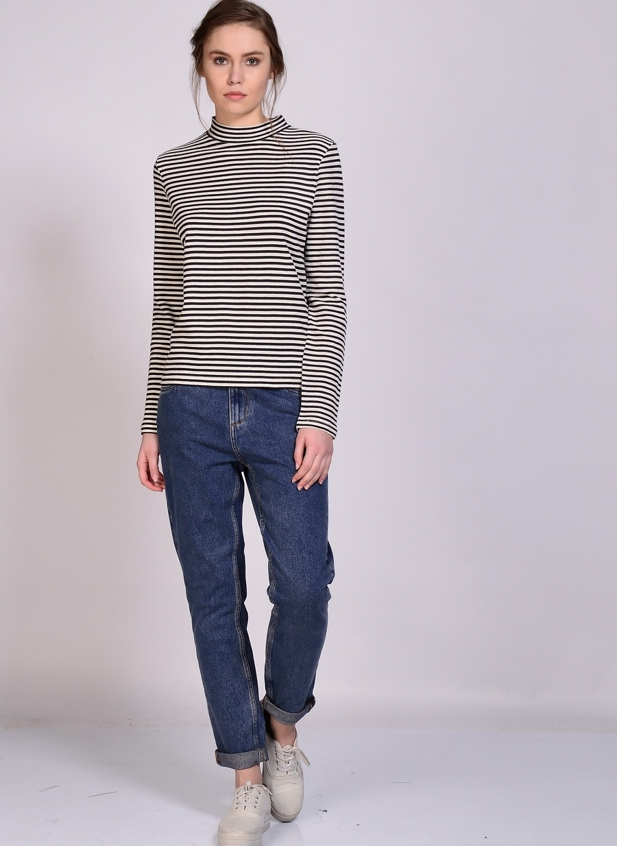 28-32 Mavi Adpt Denim Pantolon Kadın Giyim Jean