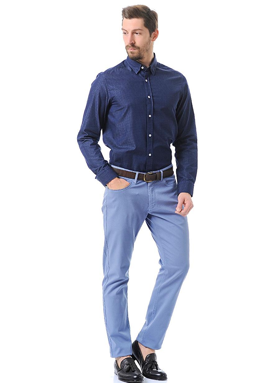 38 Mavi Kip Pantolon Erkek Giyim