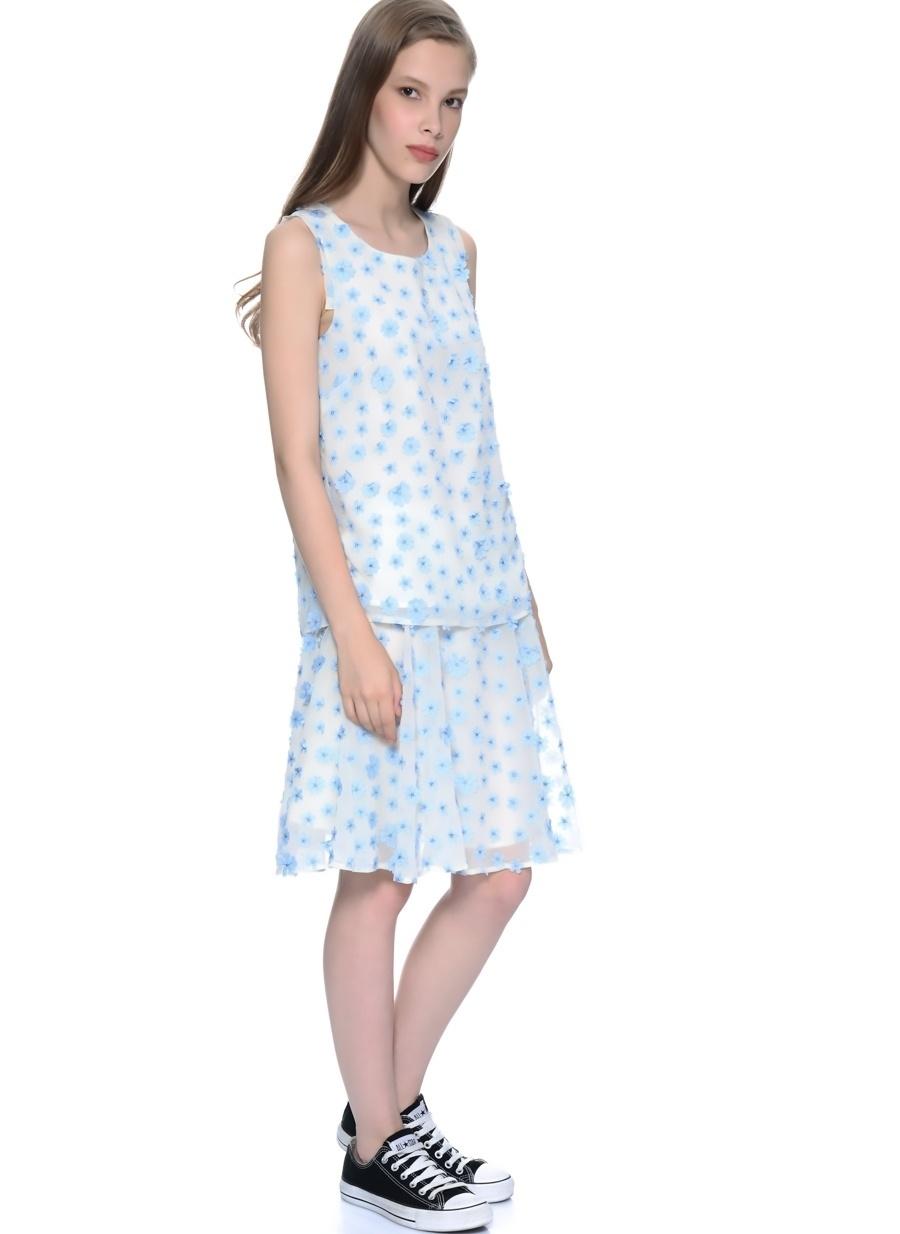 38 Açık Mavi Darling Bluz Kadın Giyim Gömlek