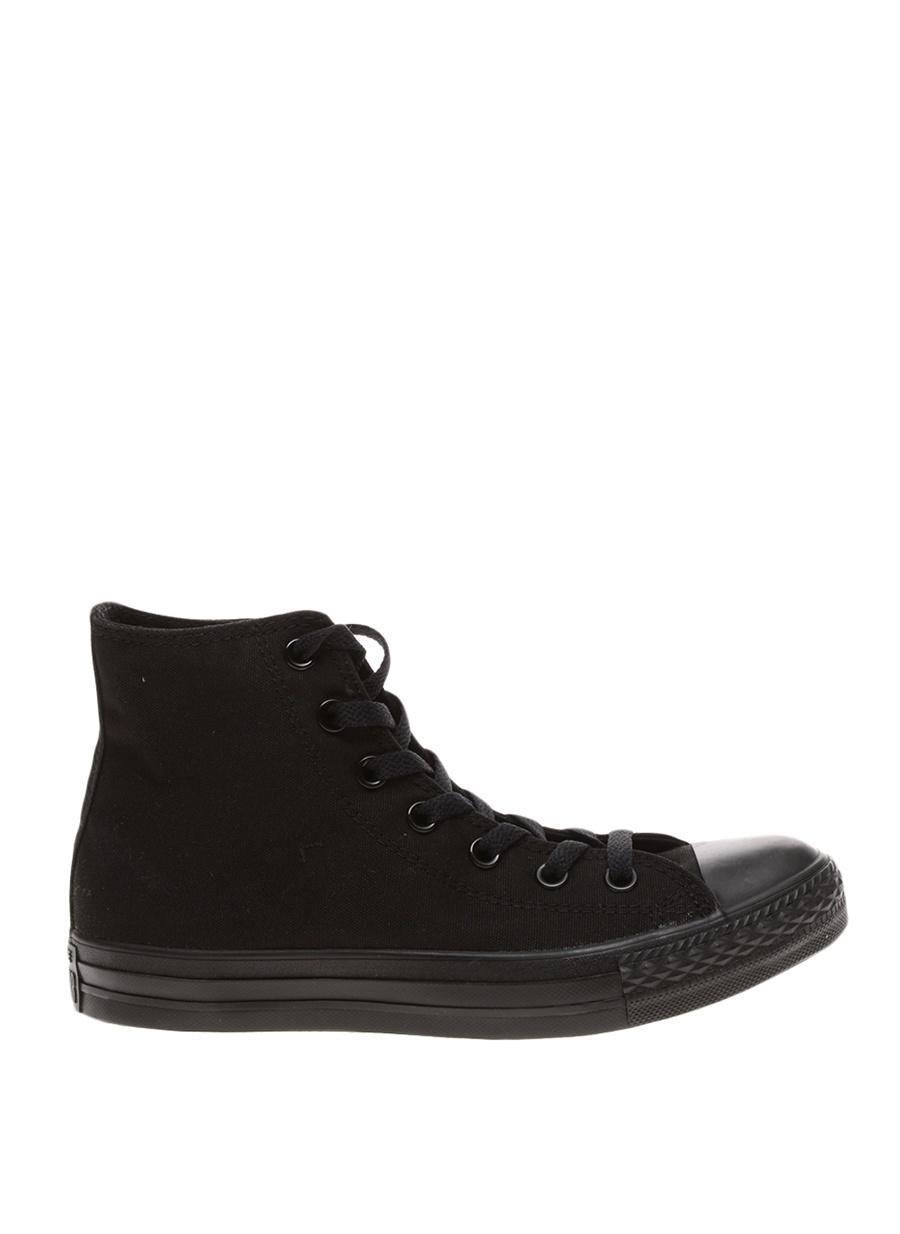 40 Siyah Converse Kadın Düz Ayakkabı Çanta