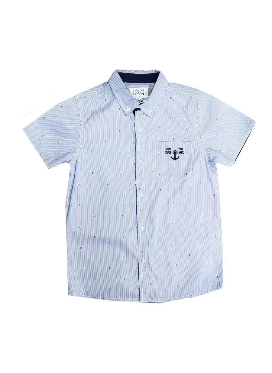 3 Yaş Erkek Mavi Losan Gömlek Çocuk Giyim