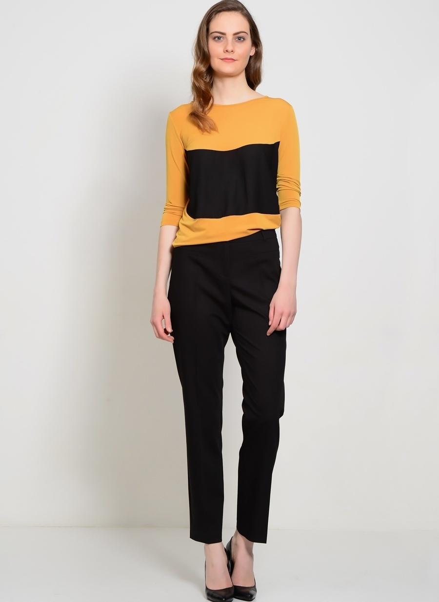 3 Siyah Ekol Bb Pantolon Kadın Giyim