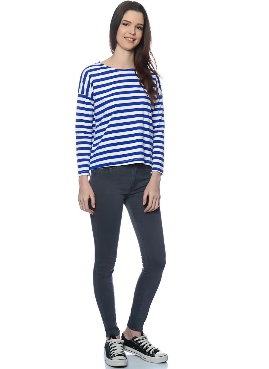 25-32 Çok Renkli Zee.Gee.Why Denim Pantolon Kadın Giyim Jean