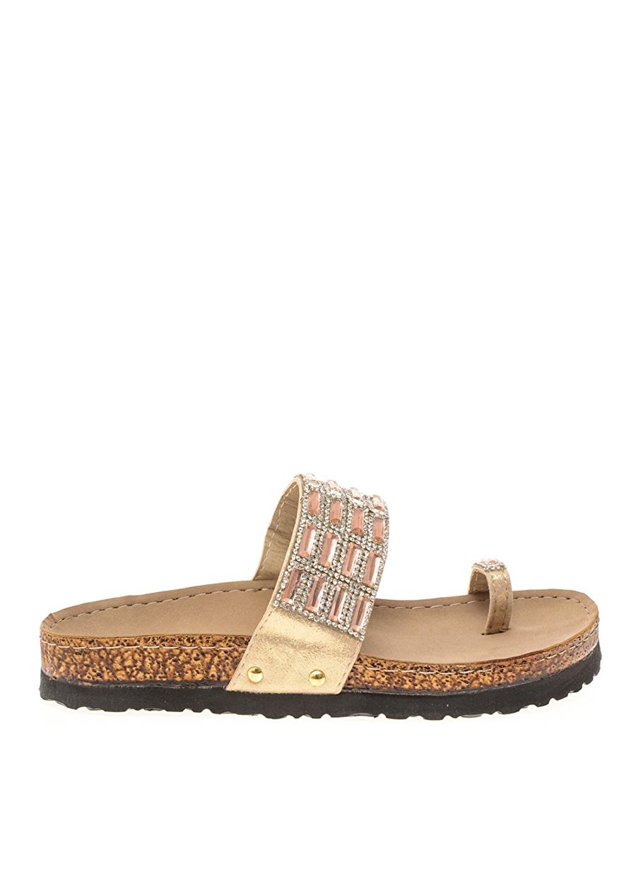 39 Dore Bambi Ayakkabı Terlik Çanta Kadın Sandalet
