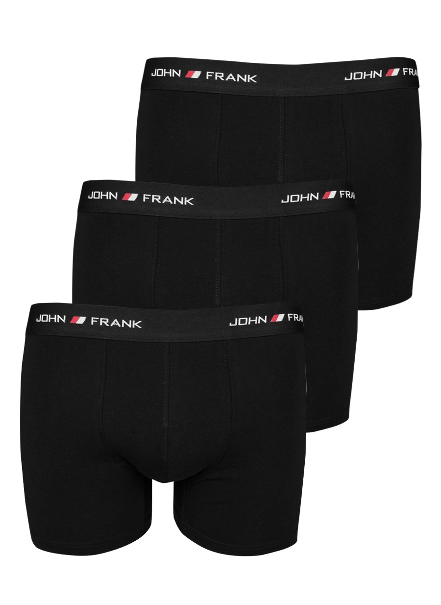 XL Erkek Çok Renkli John Frank Boxer Bottom Underwear Mens