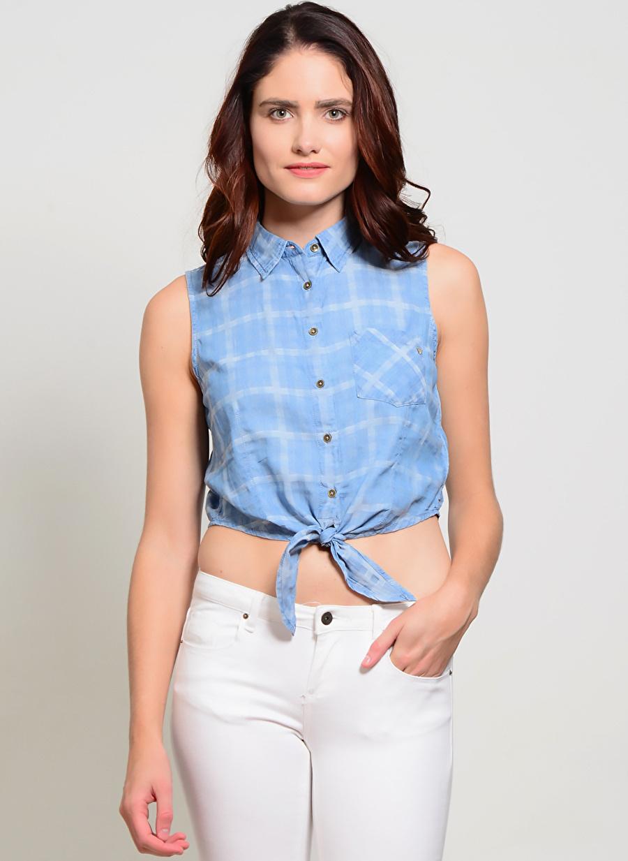 S Çok Renkli Guess Bluz Kadın Giyim Gömlek