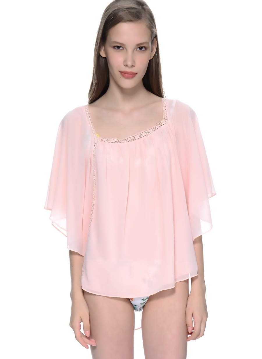 1 Pembe Freeminds Bluz Kadın Giyim Gömlek