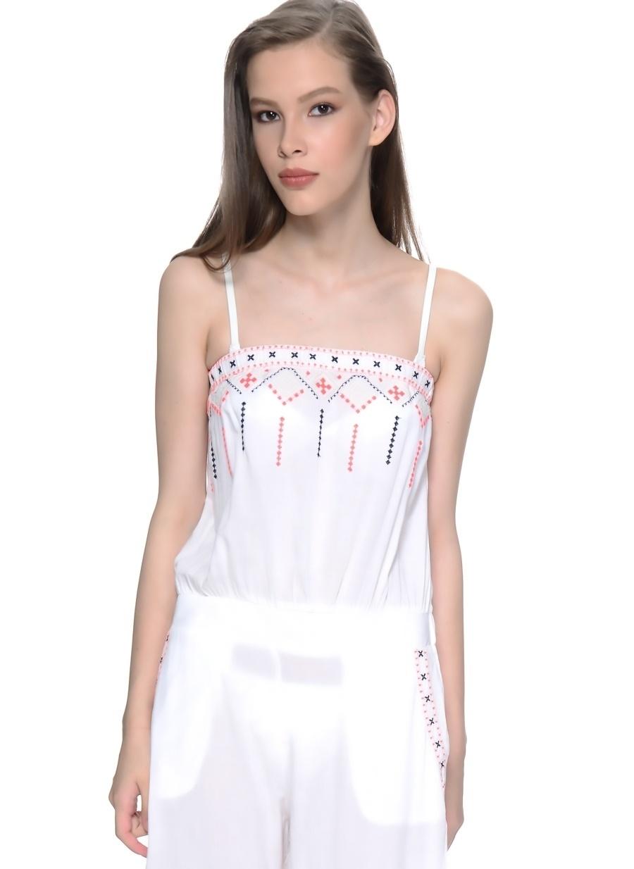 3 Beyaz Freeminds Pantolon Kadın Giyim