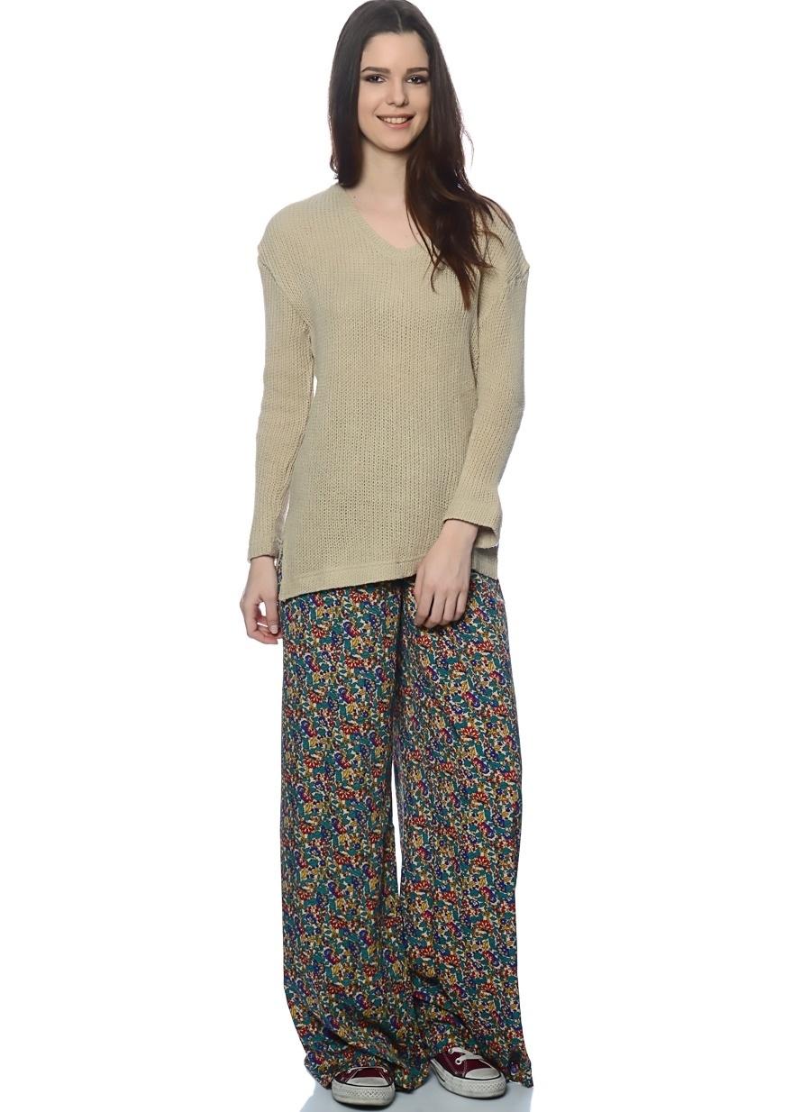 M Çok Renkli Compania Fantastica Pantolon Kadın Giyim