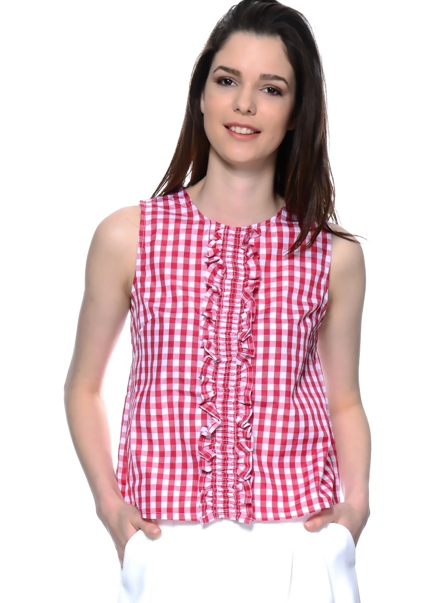 M Kırmızı Compania Fantastica Bluz Kadın Giyim Gömlek