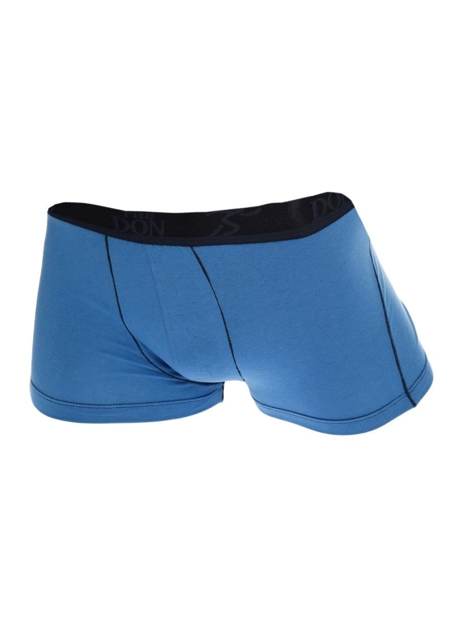 XL Mavi The Don Boxer Erkek İç Giyim