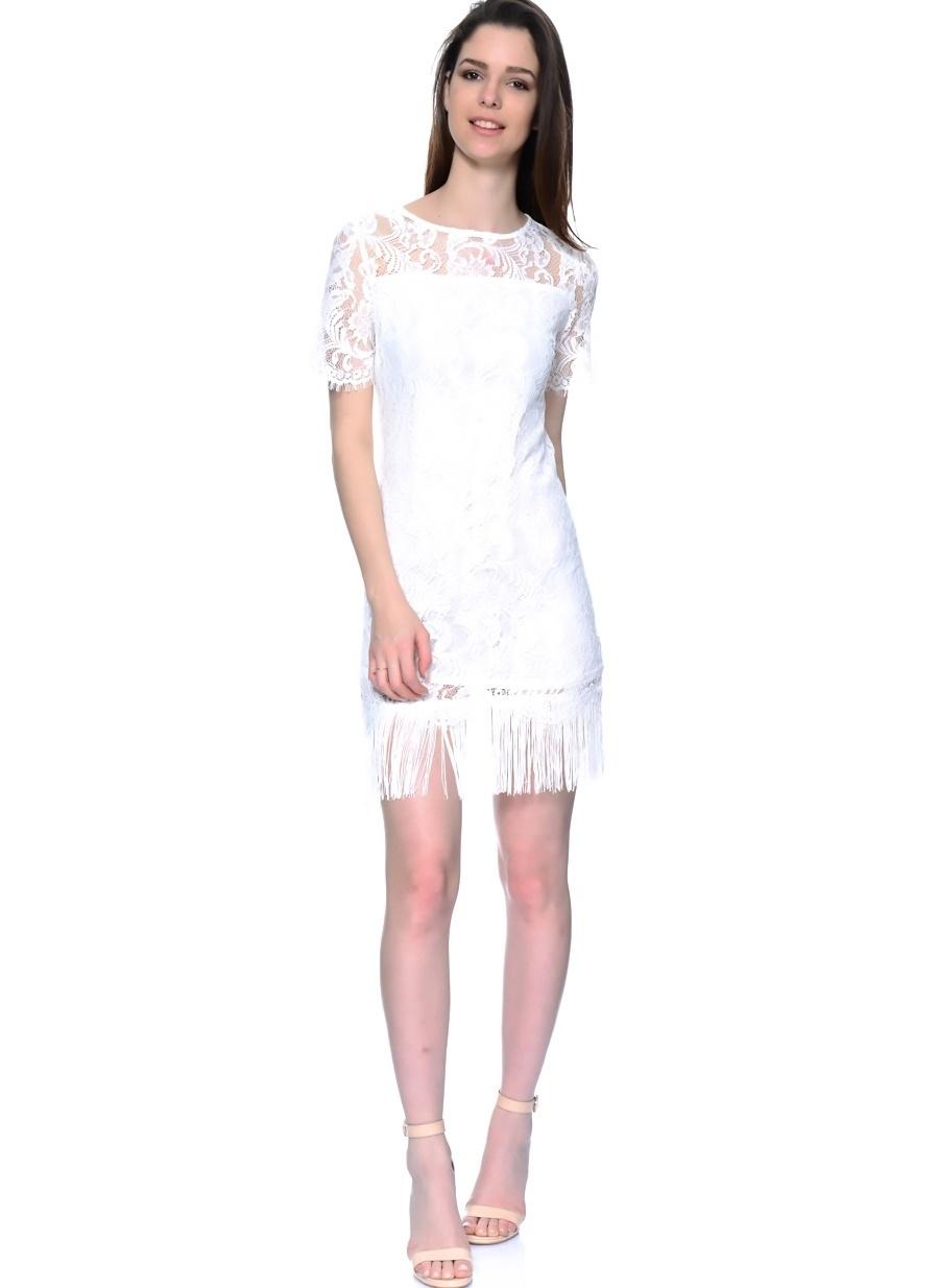 38 Krem As By Anne Smith Elbise Kadın Giyim