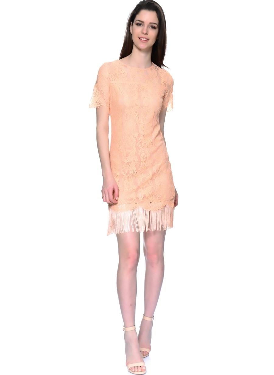 42 Açık Turuncu As By Anne Smith Elbise Kadın Giyim