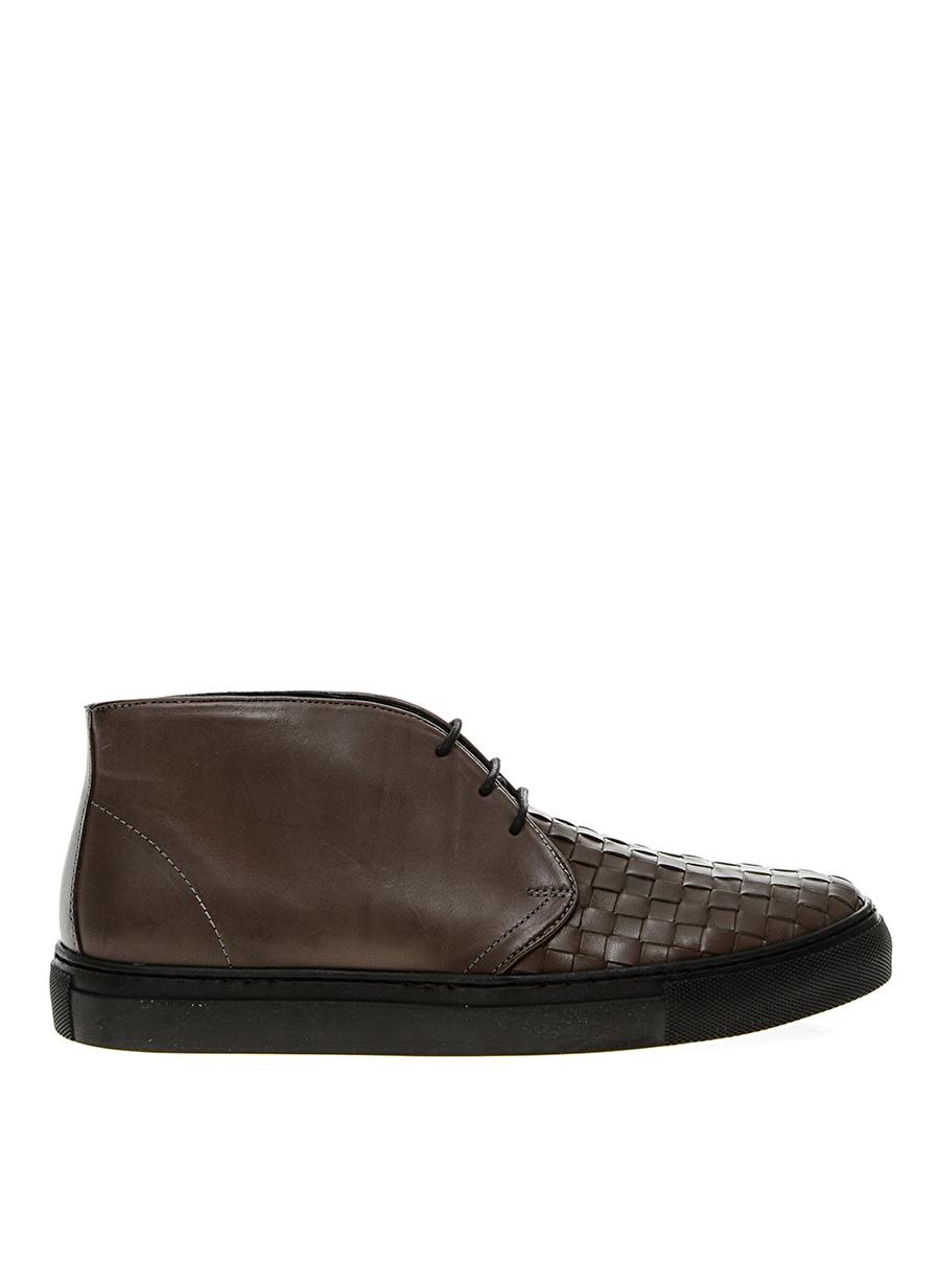44 Gri Penford Deri Bot Ayakkabı Çanta Erkek Çizme