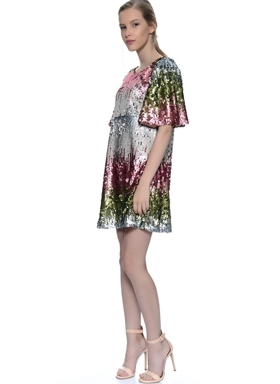 M Çok Renkli Sister Jane Elbise Kadın Giyim