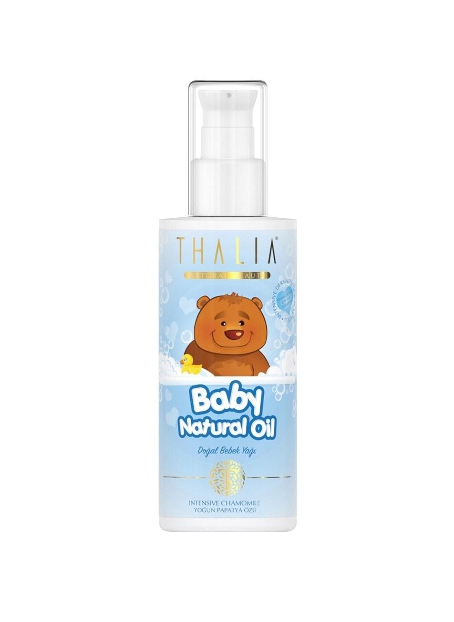 Standart unisex Renksiz Thalia Bebe Yaği - Mavi 180 Ml Vücut Yağı Kozmetik Bakımı Duş Jeli