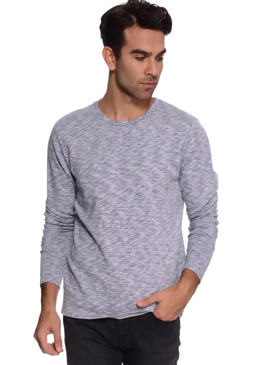 XL Mavi Jack amp; Jones & Sweatshırt Spor Erkek Giyim Sweatshirt