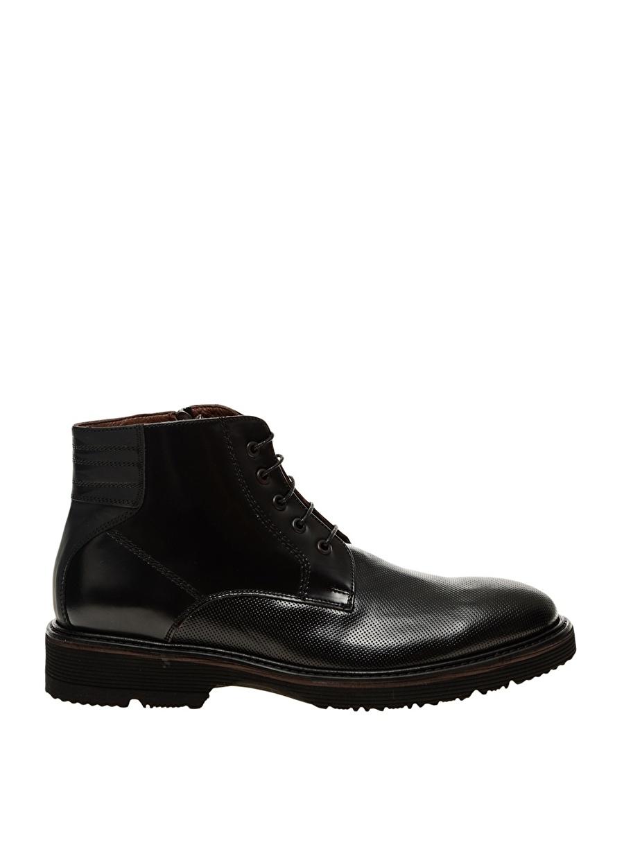 40 Siyah Divarese Erkek Bot Ayakkabı Çanta Çizme