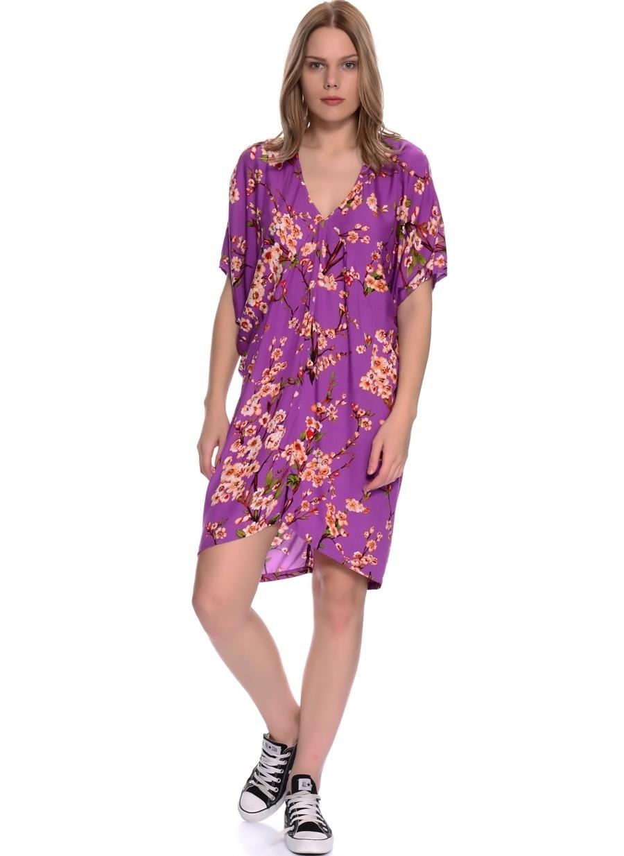 XS Mor Ruby Rocks Elbise Kadın Giyim