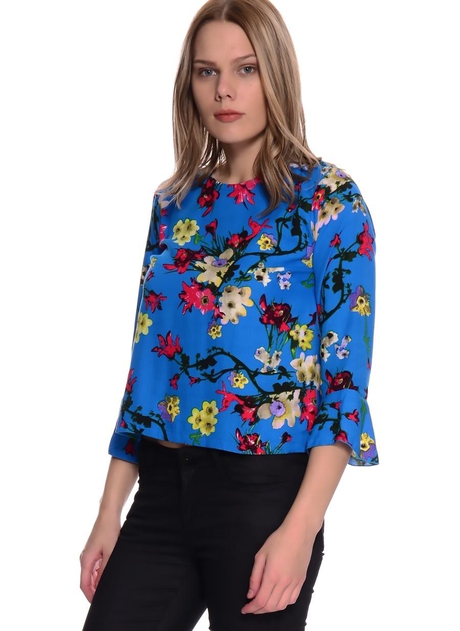 XS Mavi Ruby Rocks Bluz Kadın Giyim Gömlek