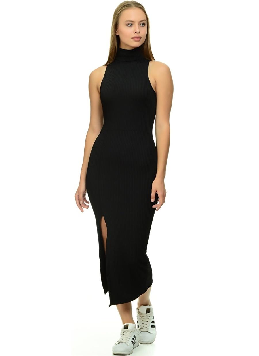 40 Siyah Missguided Elbise Kadın Giyim