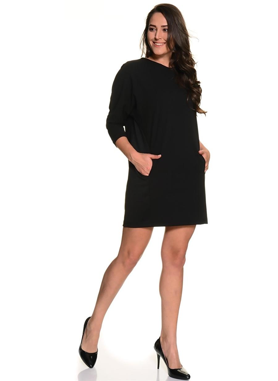50 Siyah God Diva Elbise Kadın Giyim