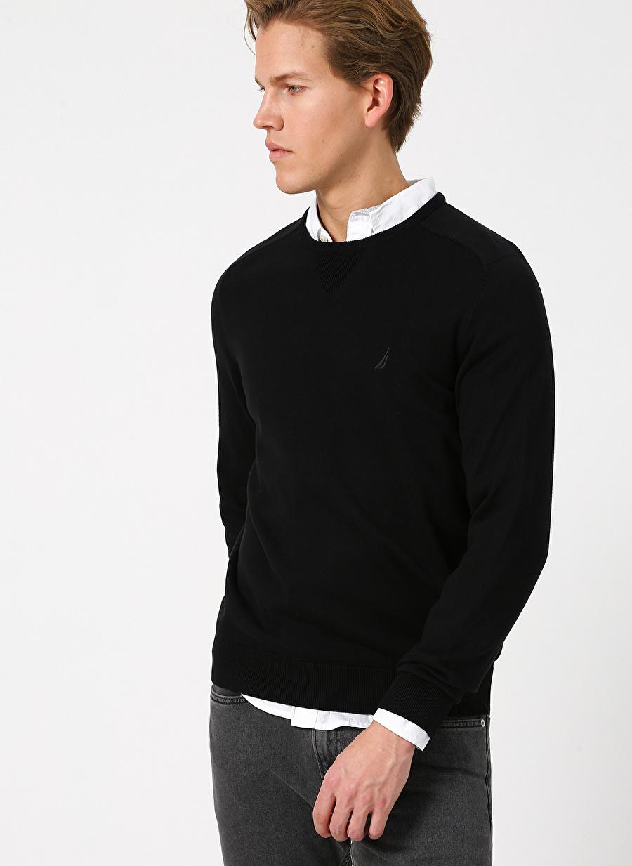 XL Siyah Nautica True Black Kazak Erkek Giyim Hırka