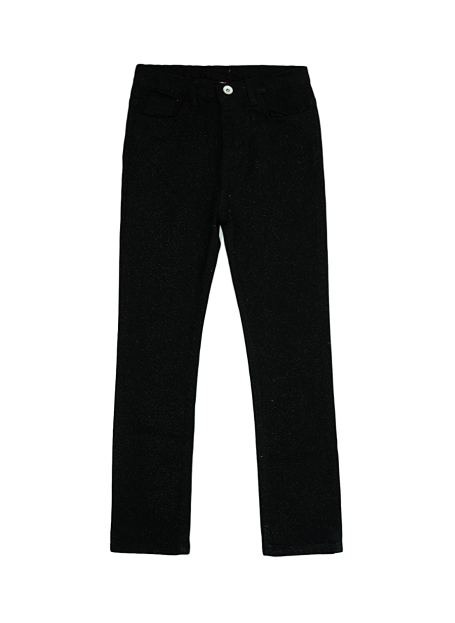 5 Yaş Kadın Siyah Barbie Çocuk Pantolon Lisanslı Ürünler