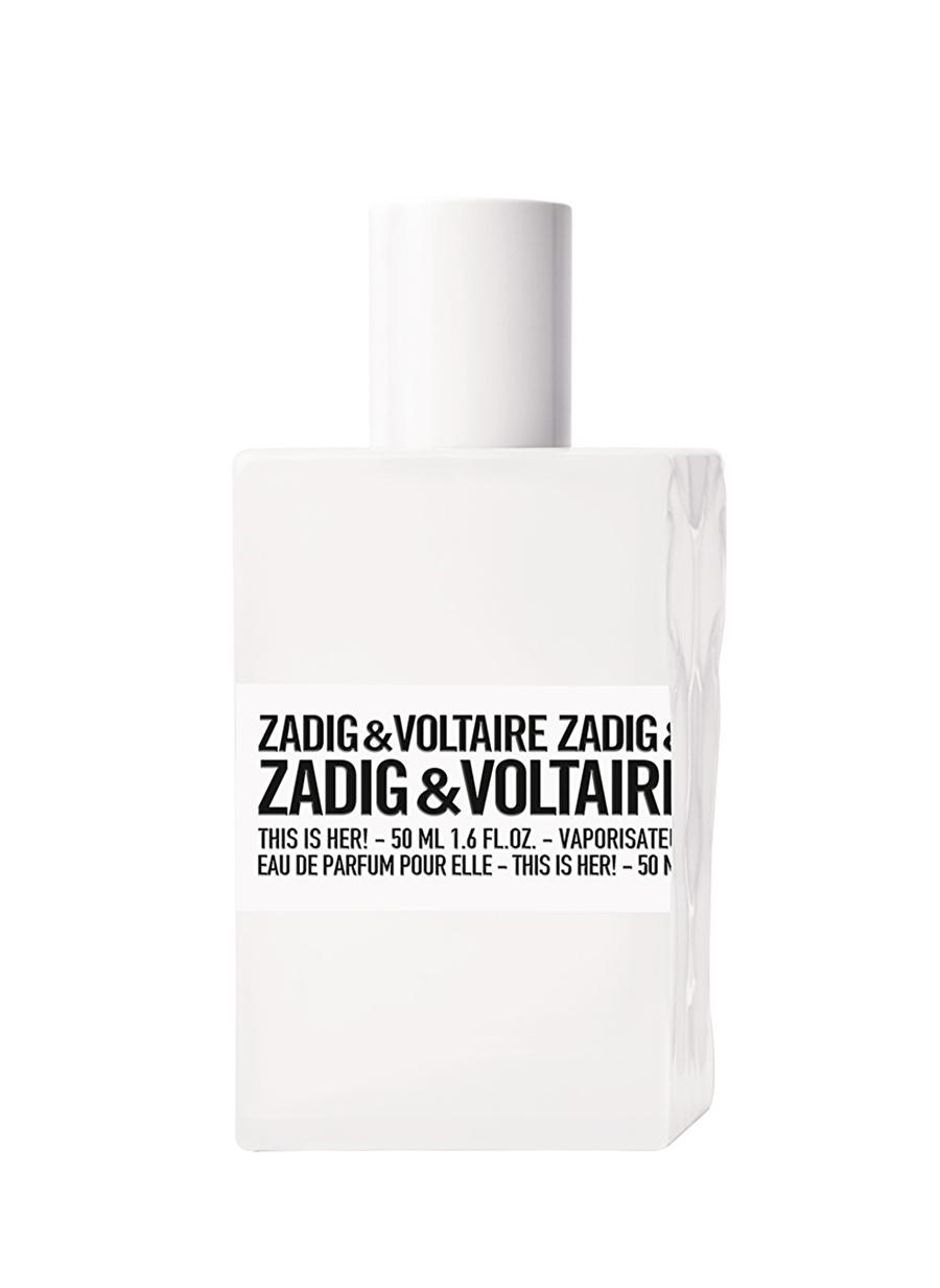 Standart Renksiz Zadigamp;Voltaire Zadig&Voltaire This Her! Edp 50 ml Kadın Parfüm Kozmetik