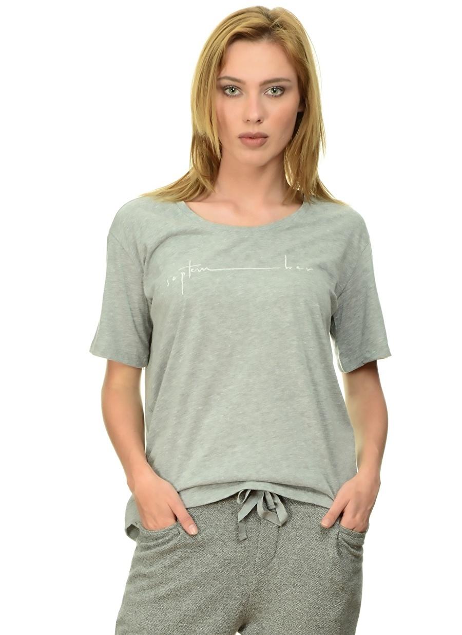 S Gri Fridays Project T-Shirt Kadın Giyim T-shirt Atlet