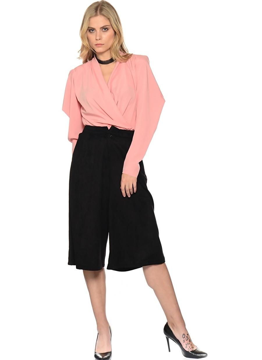 40 Siyah Liquorish Pantolon Kadın Giyim