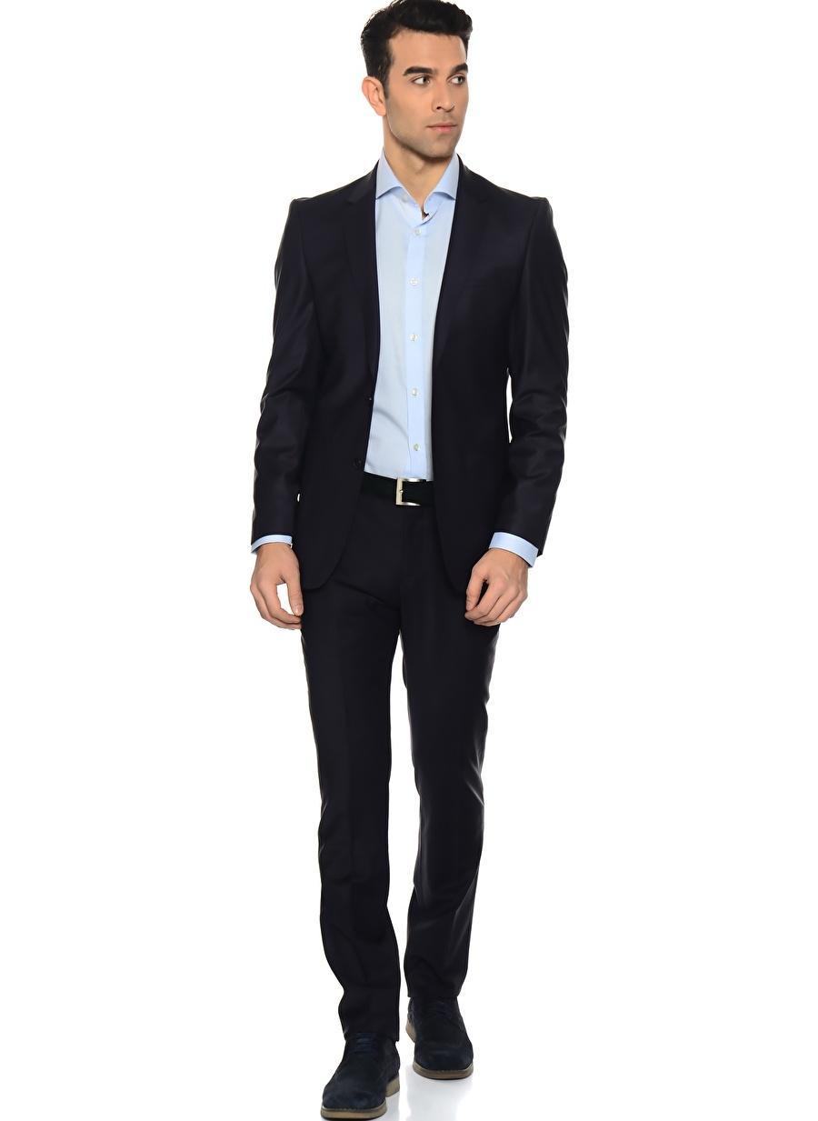 58-6 Koyu Lacivert Beymen Business Takım Elbise Erkek Giyim