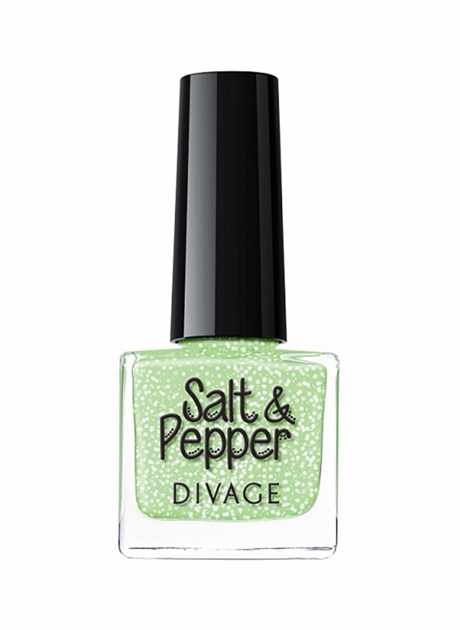 Standart Kadın Renksiz Divage Salt&Pepper No02 Oje Kozmetik Makyaj Tırnak Bakımı