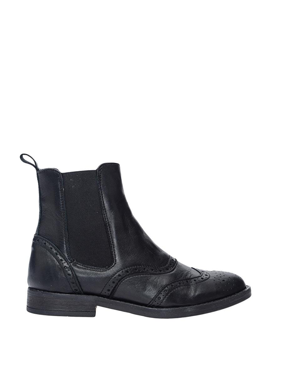 37 Siyah Pavement Bot Ayakkabı Çanta Kadın Çizme