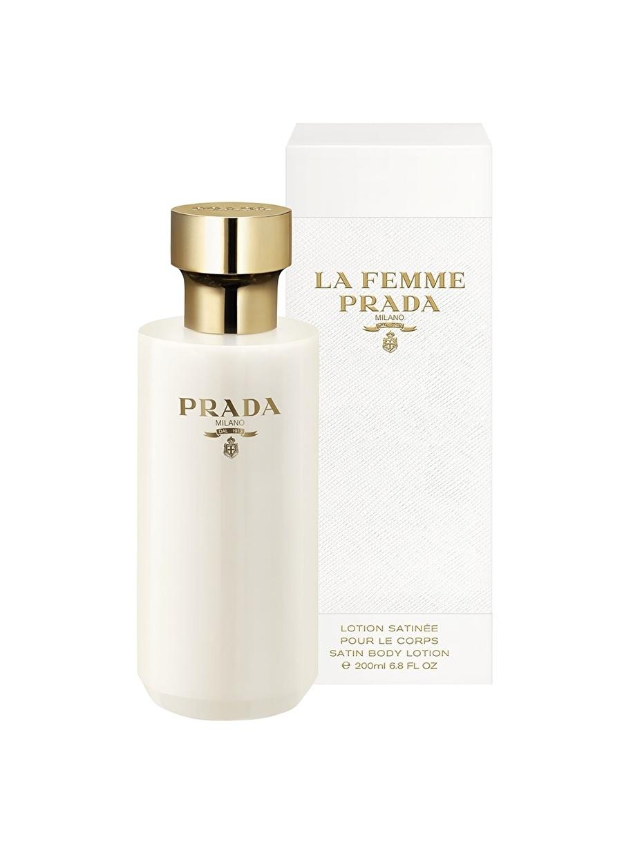 Standart Renksiz Prada La Femme 200 ml Kadın Parfüm Vücut Losyonu Kozmetik Duş Jeli