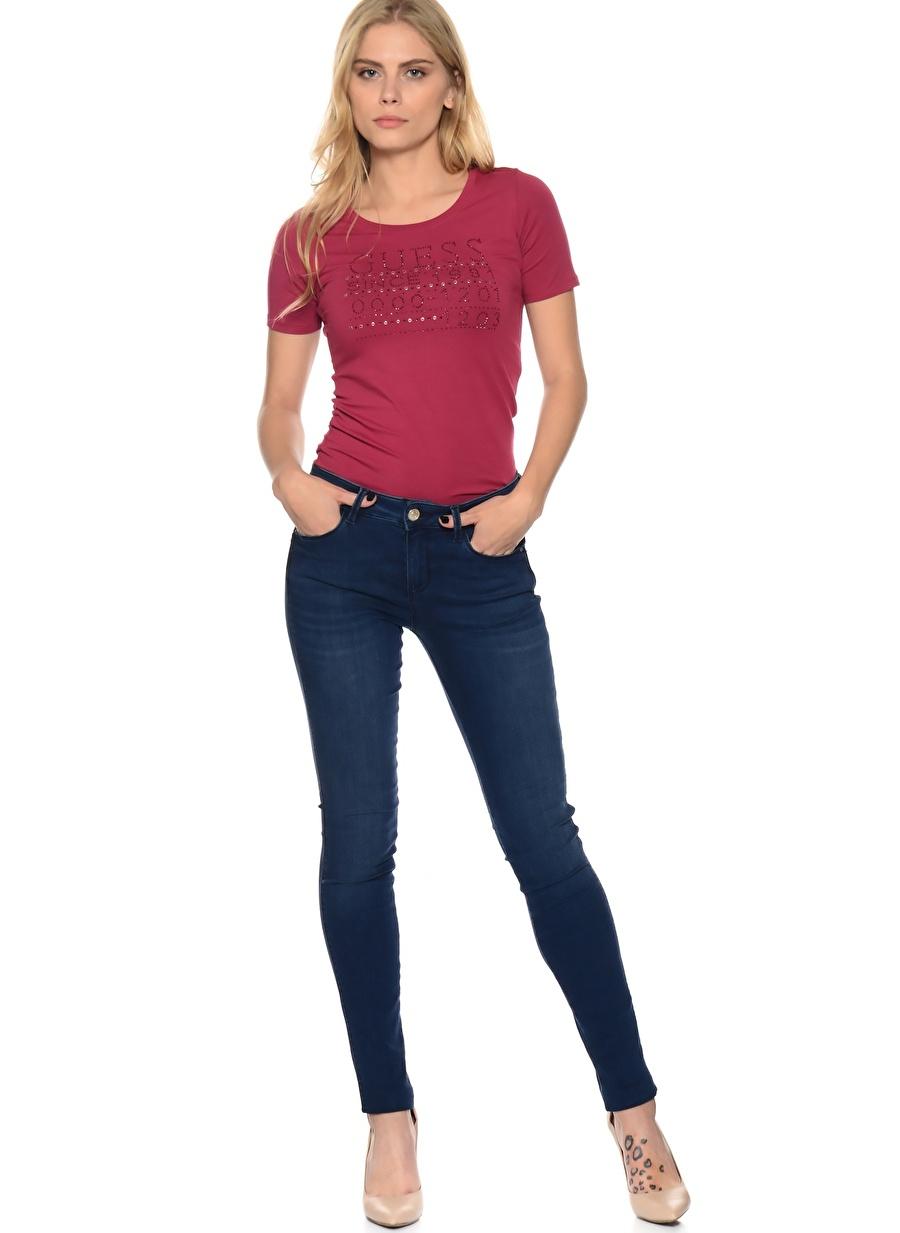 26-32 Mavi Guess Denim Pantolon Kadın Giyim Jean