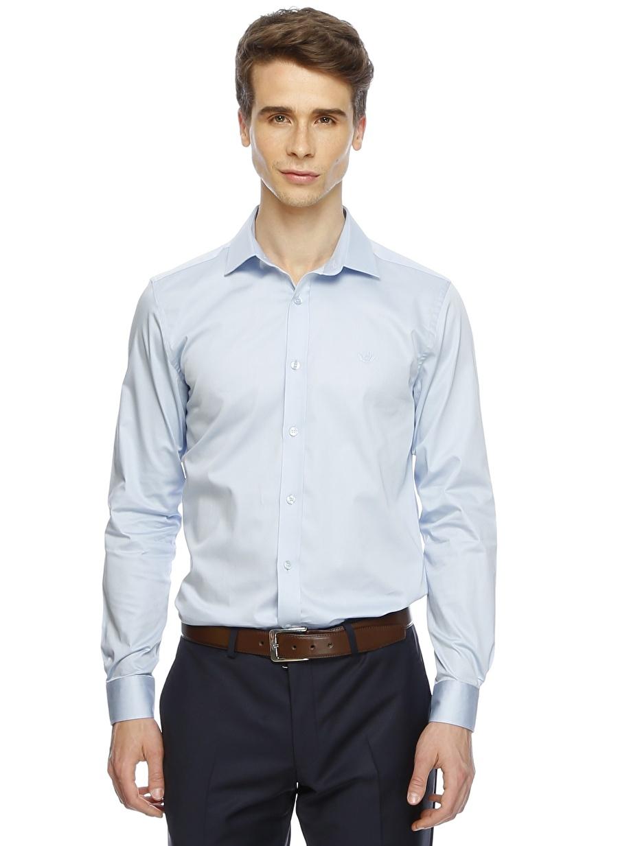 L Açık Mavi Beymen Business Gömlek Erkek Giyim