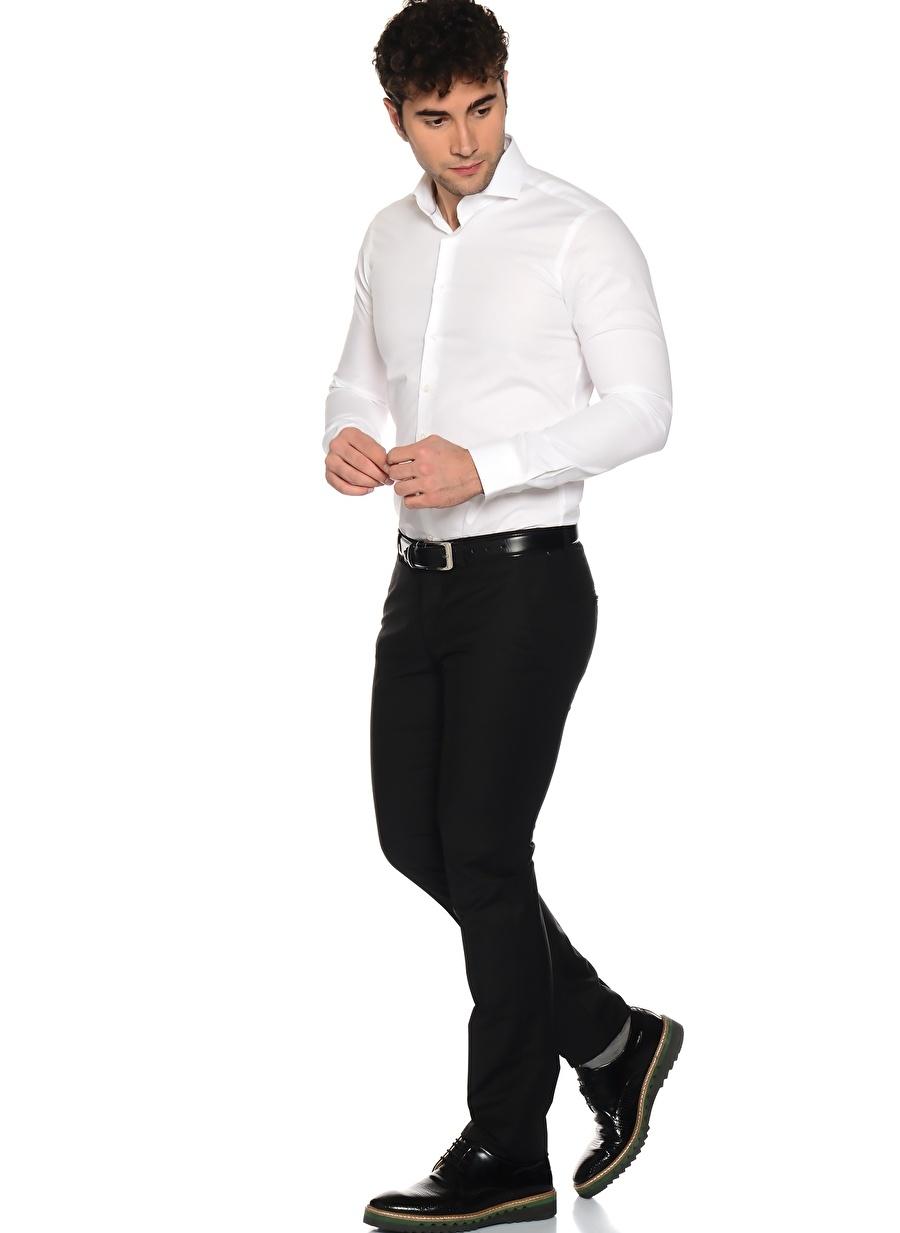56-6 Siyah George Hogg Takım Elbise Erkek Giyim